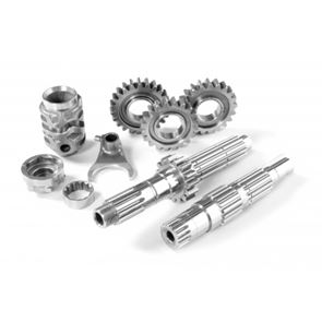 Super finish shafts and gears