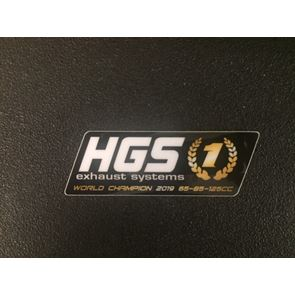 HGS Sticker 2 stroke silencer